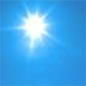 Today: Sunny, with a high near 56. Northwest wind around 5 mph becoming calm  in the afternoon.